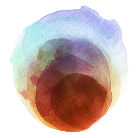 Abstract watercolor paint vector eps.10