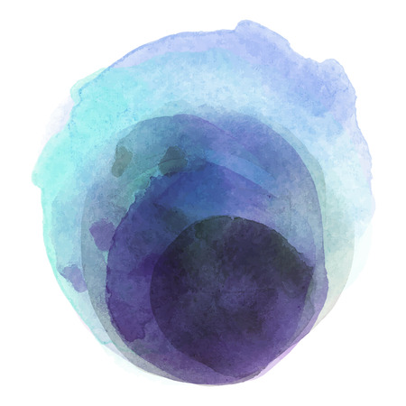 balls deep: Abstract watercolor paint