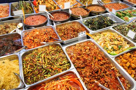 city fish market: Food Korea style at Seoul market