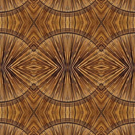 madera: Patrón de bambú transparente Foto de archivo