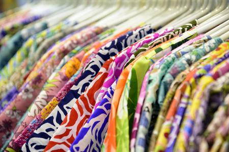 Shirt Shop : Selective focus