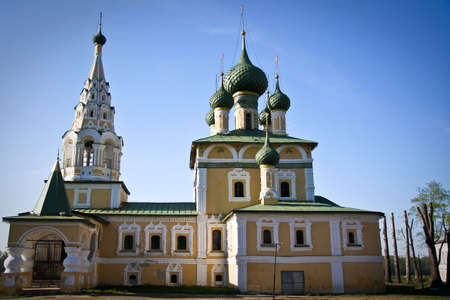 Church in Uglich, Yaroslavl region, Russia Stock Photo - 9938922