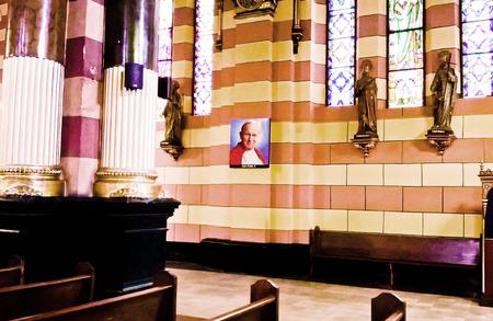 he: He saint John Paul II.