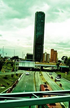 vastness: In the vastness of the city.
