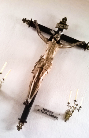 crucified: Christ crucified.