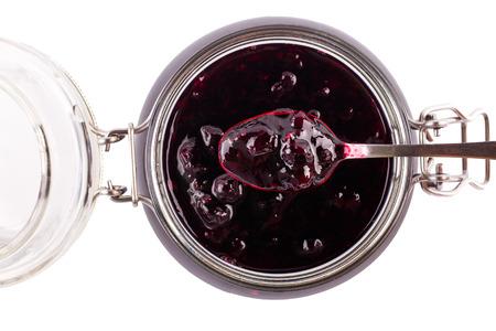 currant: Currant jam Stock Photo