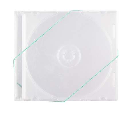 disks: Boxes for the disks CD on the white isolated background