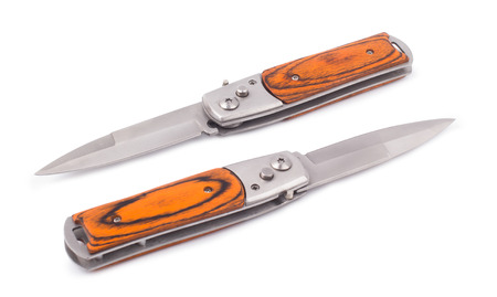 temperino: the penknife isolated