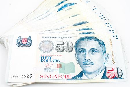 singapore money Archivio Fotografico