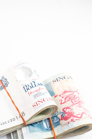 money singapore in isolated