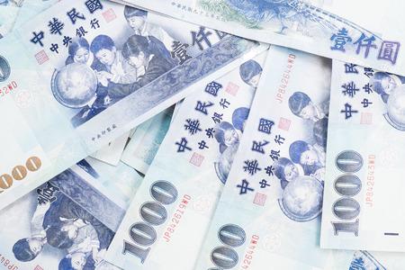 台湾のお金 写真素材