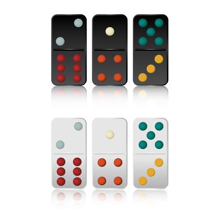dominoes: Vector of Domino