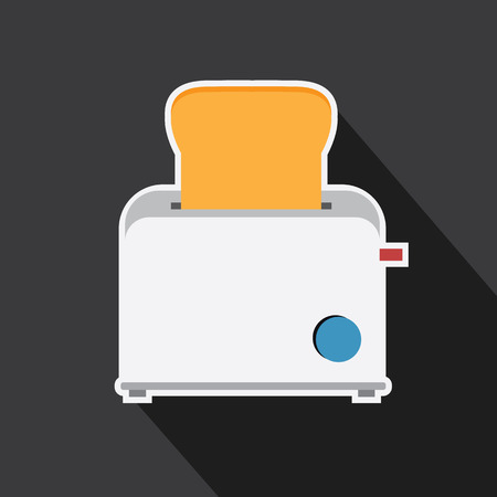 Vector of toaster