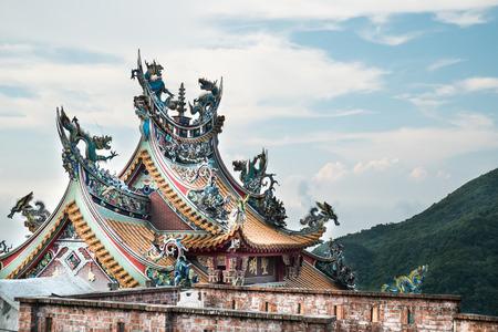 jiufen: Jiufen temple,New Taipei City Stock Photo
