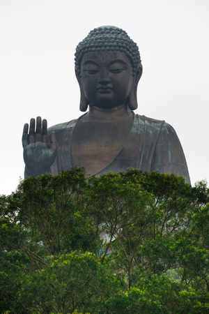 hing: Gran Buda en Hong Kong