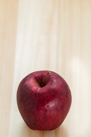 buena salud: Manzana roja para la buena salud