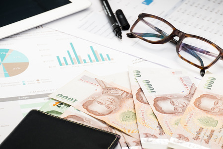 spreadsheets: Document financial .profit money and wallet
