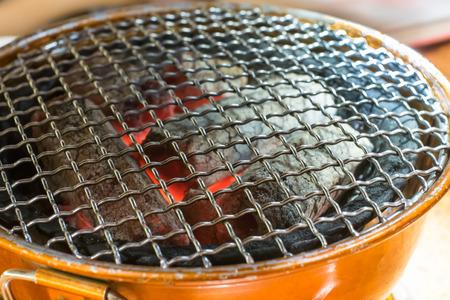 brazier: charcoal brazier Stock Photo