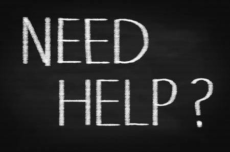 need: NEED HELP Word on Chalkboard