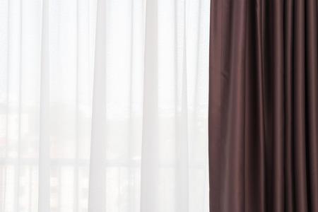 dark: Dark Brown curtain