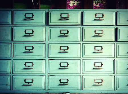 drawer: Vintage Drawer with Cross process colour style