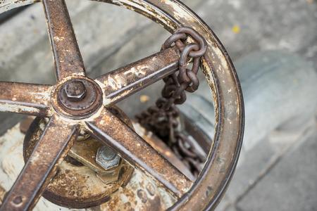 shutting: Wheel Open water supply