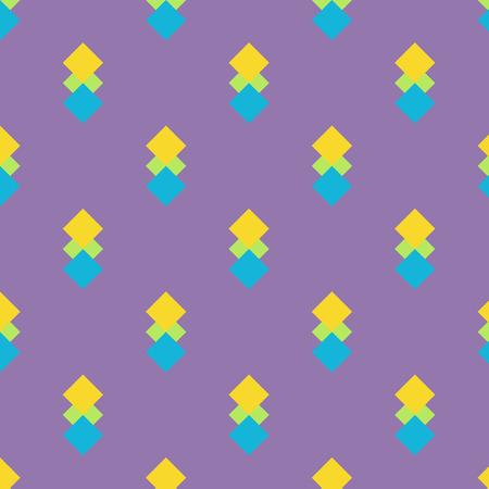 square shape: Seamless 3 colour square shape pattern,Texture background
