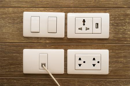plug socket: Electric Plug socket