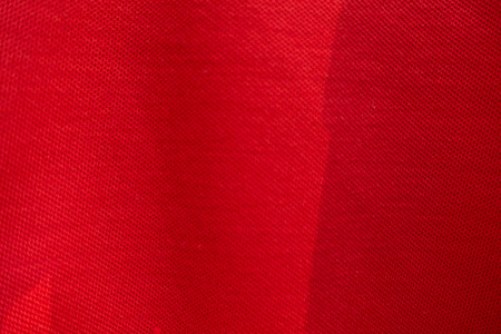 cotton velvet: Red fabric texture background