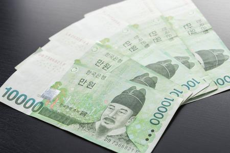 won: south korea won money