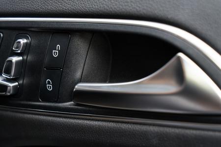 Car door lock button 写真素材