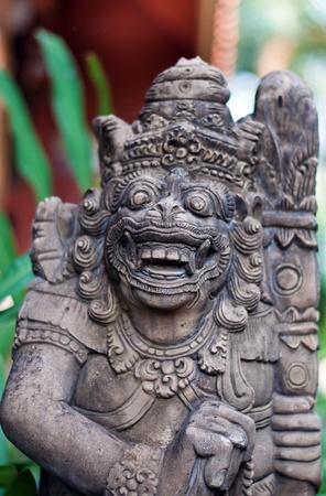 monster statue , demon statue  in thailand Stock Photo - 12553443