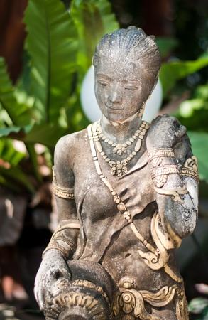 lifelike: asian girl statue ,thai girl image