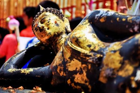 japanesse: Buddha image at doi suthep ,chiangmai,thailand