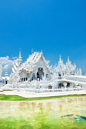 travel to Wat Rong Khun,Chiangrai,Thailand Stock Photo - 12825839