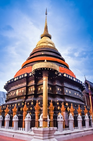 travel to Wat phra that lampang luang ,lampang,thailand Stock Photo - 12825841