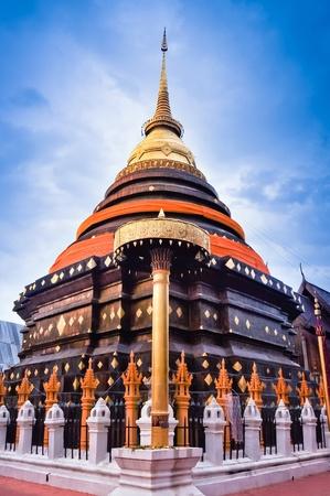 japanesse:  travel to Wat phra that lampang luang ,lampang,thailand Stock Photo