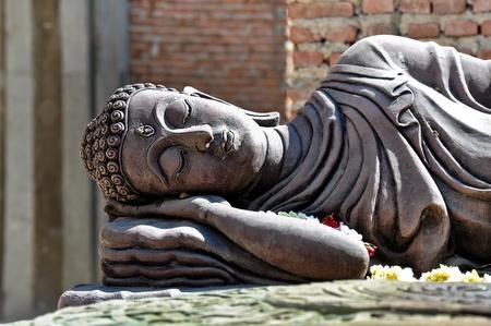 japanesse: Buddha image at wad bot donphrom ,nonthaburi,thailand