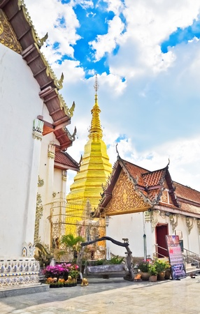 Wat Phra That Cho Hae  at  Phrae province Stock Photo - 13523371