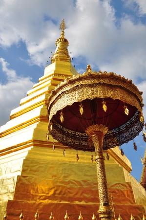 travel to Wat Phra That Cho Hae ,Phrae ,Thailand  Stock Photo - 13523401