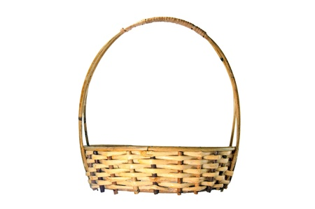 basket made from wickers  Stock Photo - 14165665