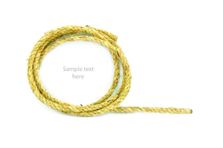 rope on  background,concept idea,isolation Stock Photo - 14783466