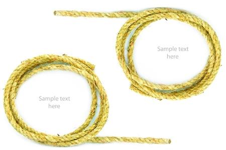 rope on  background,concept idea,isolation Stock Photo - 14783469