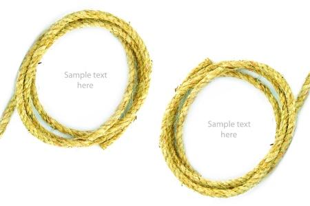 rope on  background,concept idea,isolation Stock Photo - 14783467
