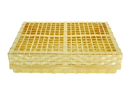 bamboo basket Stock Photo - 14989198