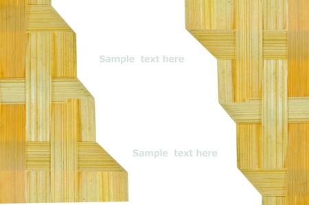 bamboo basketwork background Stock Photo - 14989202