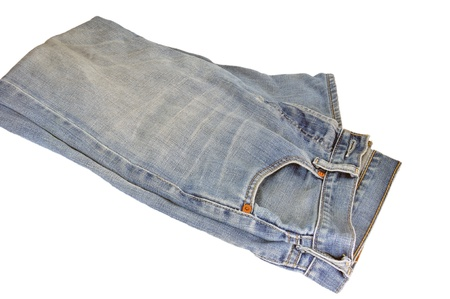 texture of jeans clothing Stock Photo - 14989220