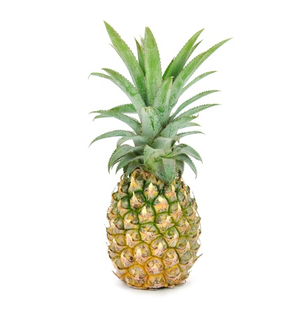 pine apple on white background Stock Photo - 15278405
