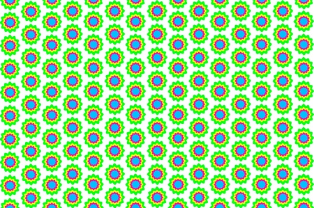 pattern of  flower on background