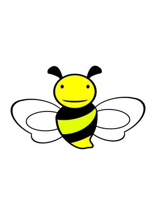 Biene Symbol Vektorgrafik